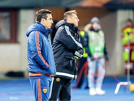 Gary Neville und Zoran Barisic