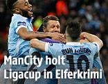 Jubel bei Manchester City