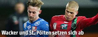 Sascha Viertl (FAC) und Henrik Ojamaa (Wacker)