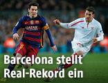 Spielszene FC Barcelona - FC Sevilla