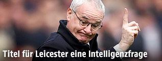 Leicester Trainer Claudio Ranieri