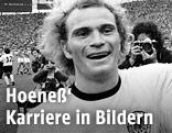 Uli Hoeneß im Jahr 1974