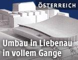 Modell der Liebenauer Eishalle