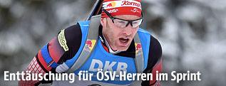 Biathlet Simon Eder (AUT)