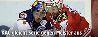 Spielszene aus KAC gegen Salzburg