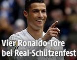 Jubel von Cristiano Ronaldo (Real Madrid)