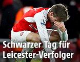 Nacho Monreal (Arsenal) ist enttäuscht
