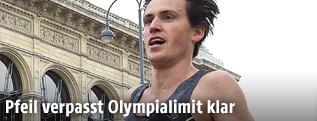 Valentin Pfeil während des Vienna City Marathons