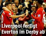 Jubel von Liverpool