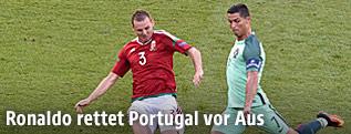 Ronaldo Rettet Portugal Vor Aus Sportorfat