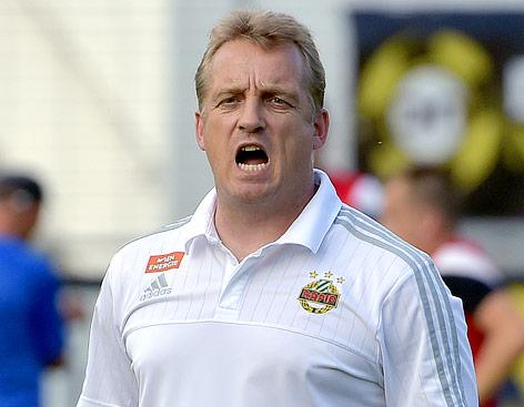 Trainer Mike Bueskens (Rapid)