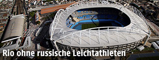 Das Olympic Stadium in Rio de Janeiro