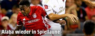 David Alaba (Bayern) gegen Gabriel Paletta (Milan)