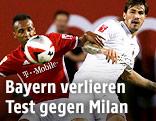 Julian Green (Bayern) gegen Romagnoli Alessio (Milan)