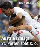 Jubel der Austria