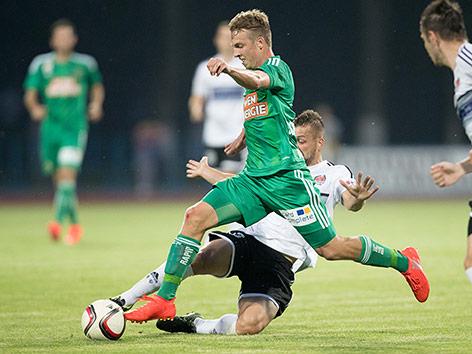 Spielezen aus dem Match Rapid gegen Schodsina
