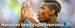 Fußballer Paul Pogba
