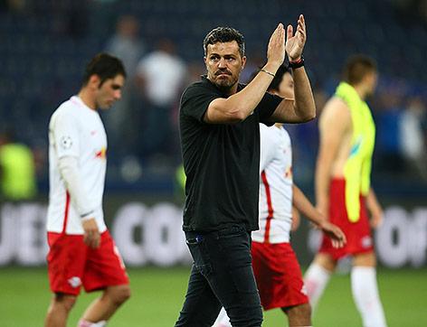 Trainer Oscar Garcia (RBS)
