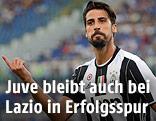 Jubel von Sami Khedira (Juventus)