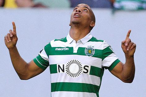 Joao Mario im Sporting-Lissabon-Dress
