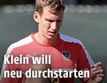 Florian Klein im Training