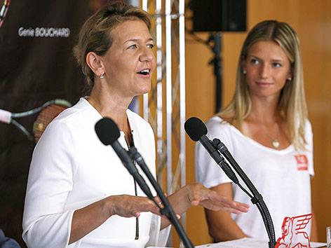 Sandra Reichel und Barbara Haas