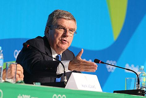 IOC Präsident Thomas Bach