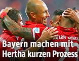 Jubel der Bayern