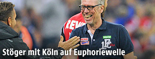 Köln-Trainer Peter Stöger