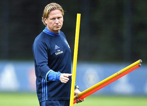 Trainer Markus Gisdol (HSV)