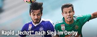 Christoph Martschinko (Austria) und Louis Schaub (Rapid)
