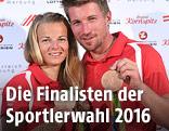 Thomas Zajac/Tanja Frank mit Olympiamedaillen