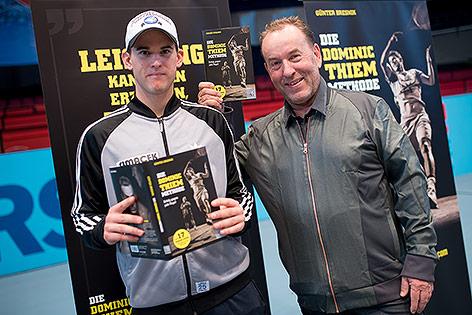 Dominic Thiem und Günter Bresnik