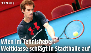 Andy Murray in der Wiener Stadthalle