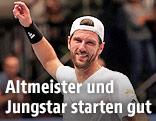 Ein lächelnder Jürgen Melzer