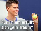 Dominic Thiem jubelt
