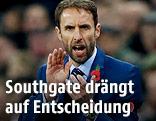 Englands Teamchef Gareth Southgate