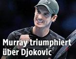 Andy Murray jubelt