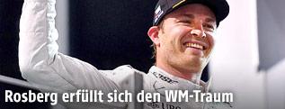 Jubel von Nico Rosberg