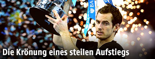 Andy Murray mit Pokal