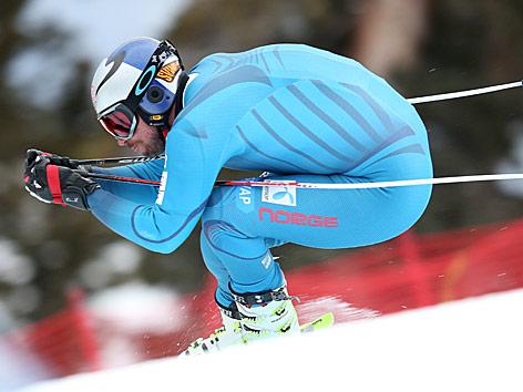 Aksel Lund Svindal beim Training in Copper Mountain