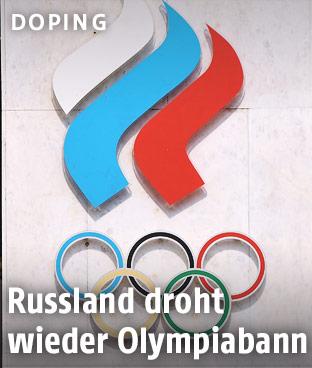 Gebäude des Russischen Olympischen Kommittees