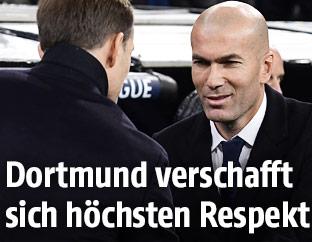 Trainer Zidane und Tuchl
