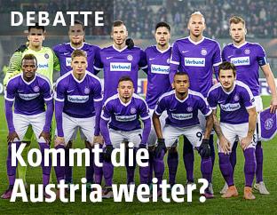 Mannschaftsfoto Austria Wien