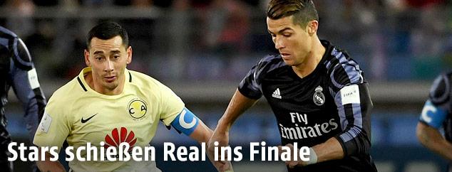Christiano Ronaldo und Rubens Sambueza