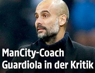 Manchester-City-Trainer Josep Guardiola
