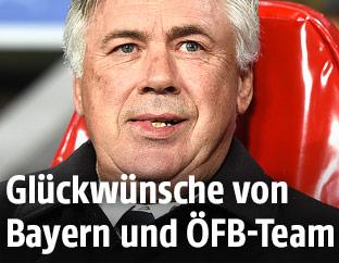 Bayern-Trainer Ancelotti