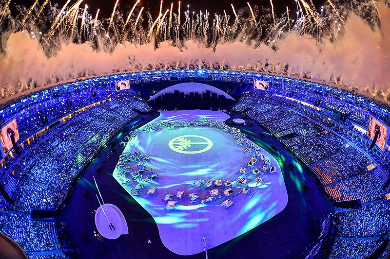 Eröffnungsfeier in Rio