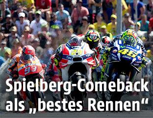 MotoGP-Rennen in Spielberg