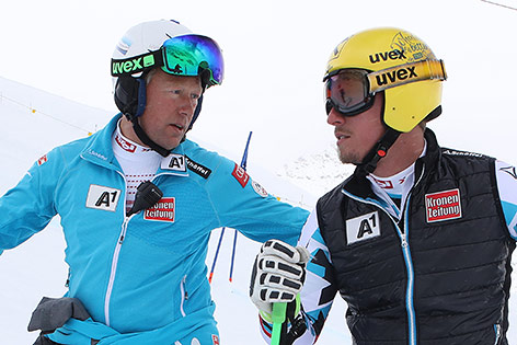 Werner Franz und Max Franz
